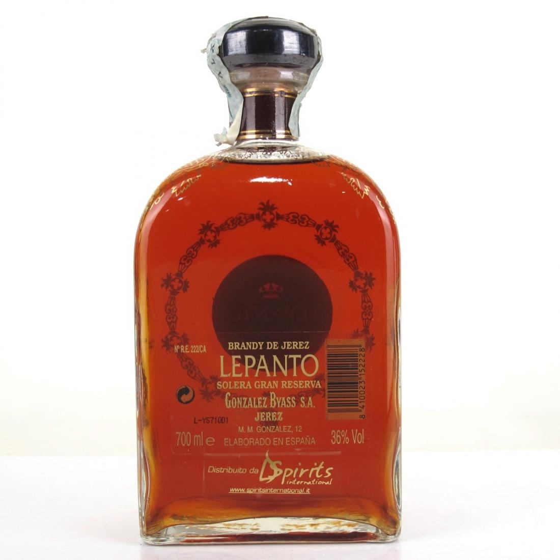Lepanto Gonzalez Byass Brandy