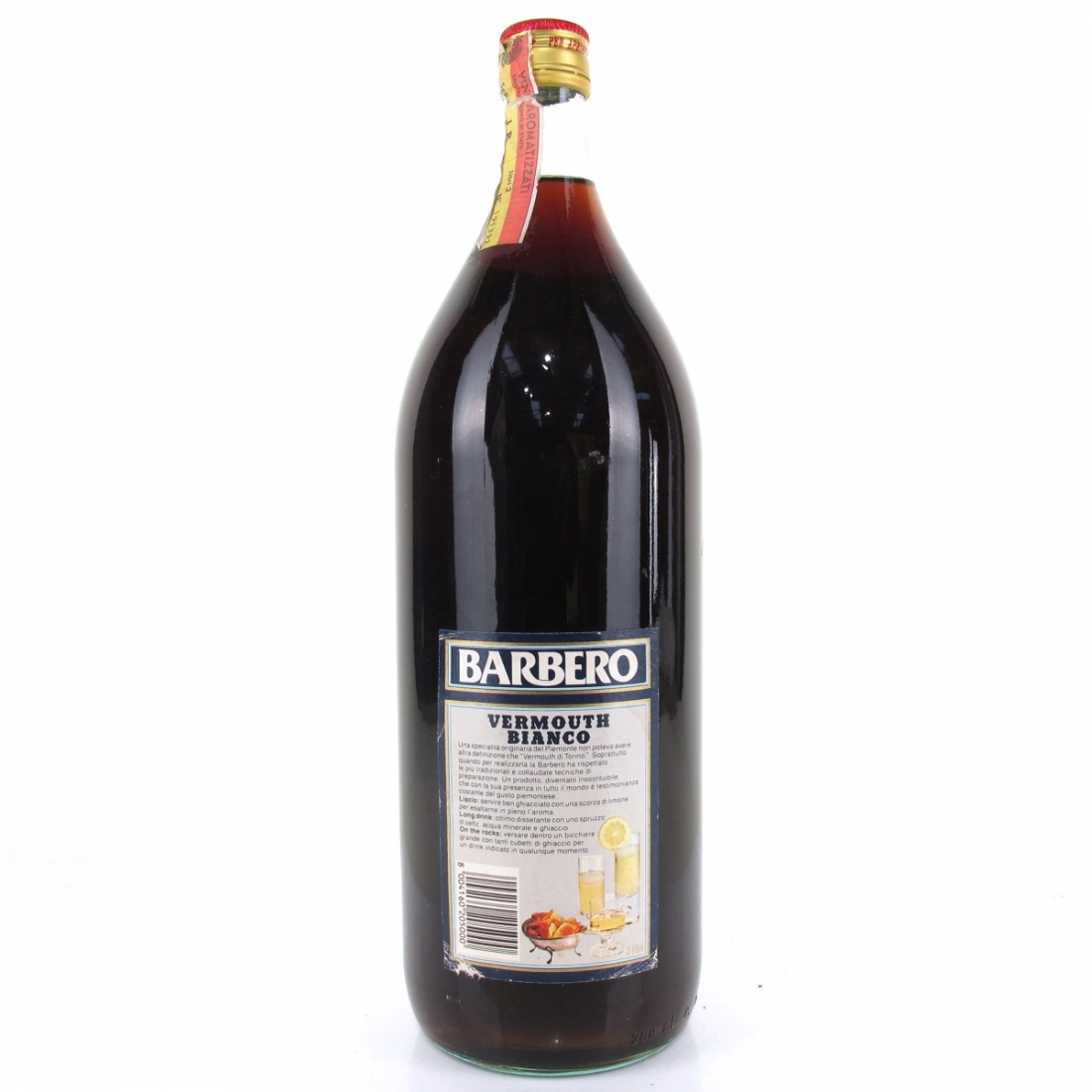 Barbero Vermouth Bianco 2 Litre