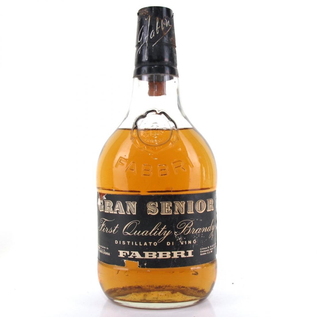 Fabbri Brandy Gran Senior 1 Litre