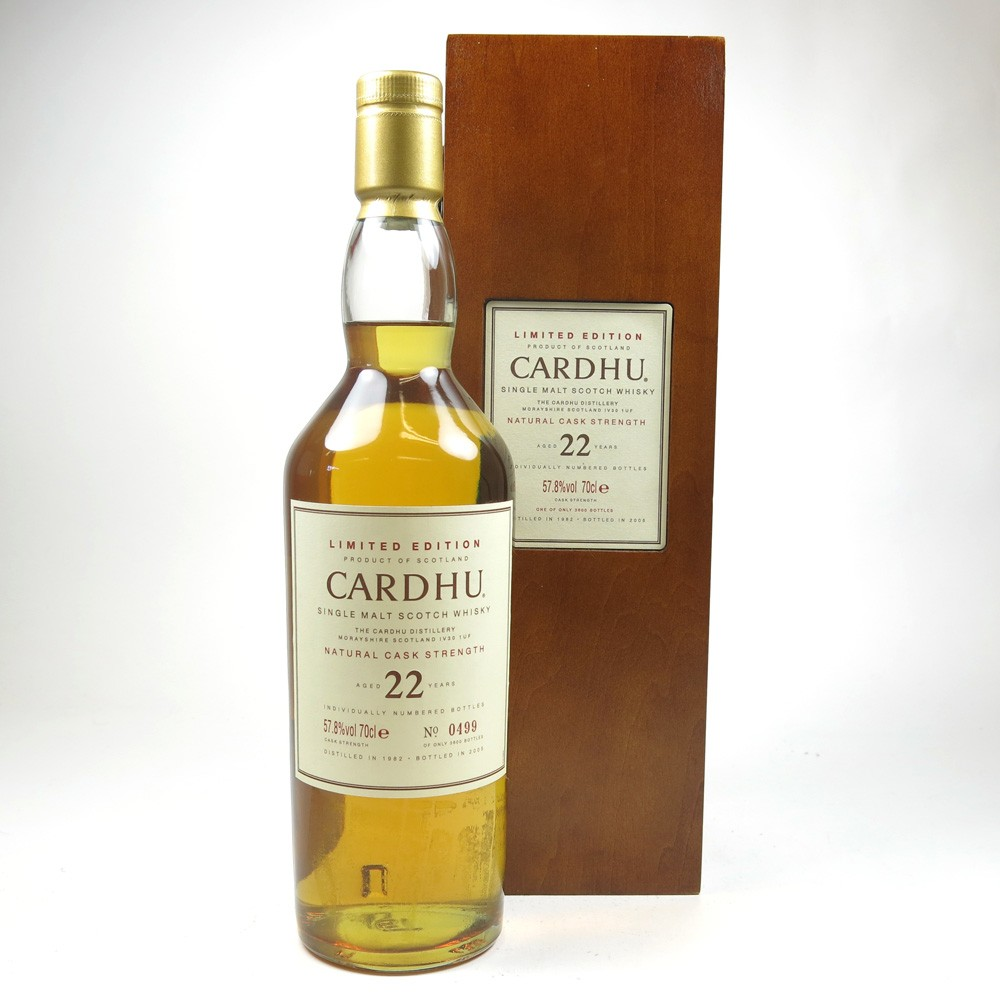 Cardhu 1982 22 Year Old Cask Strength