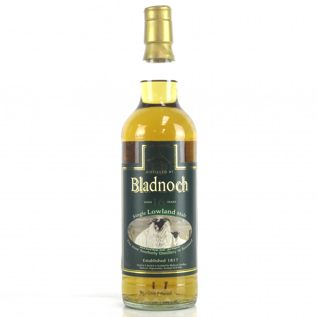 Bladnoch 16 Year Old Sheep Label