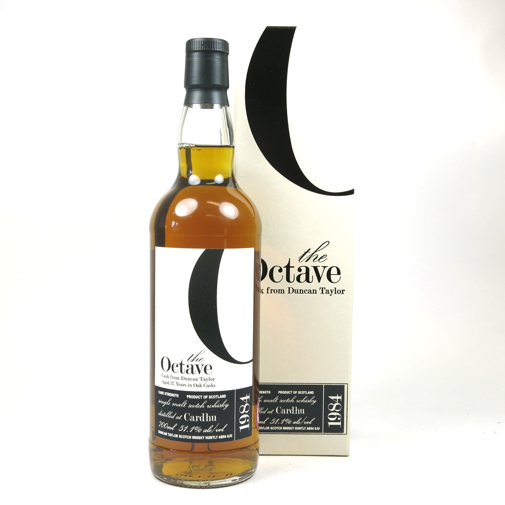 Cardhu 1984 Duncan Taylor Octave 27 Year Old