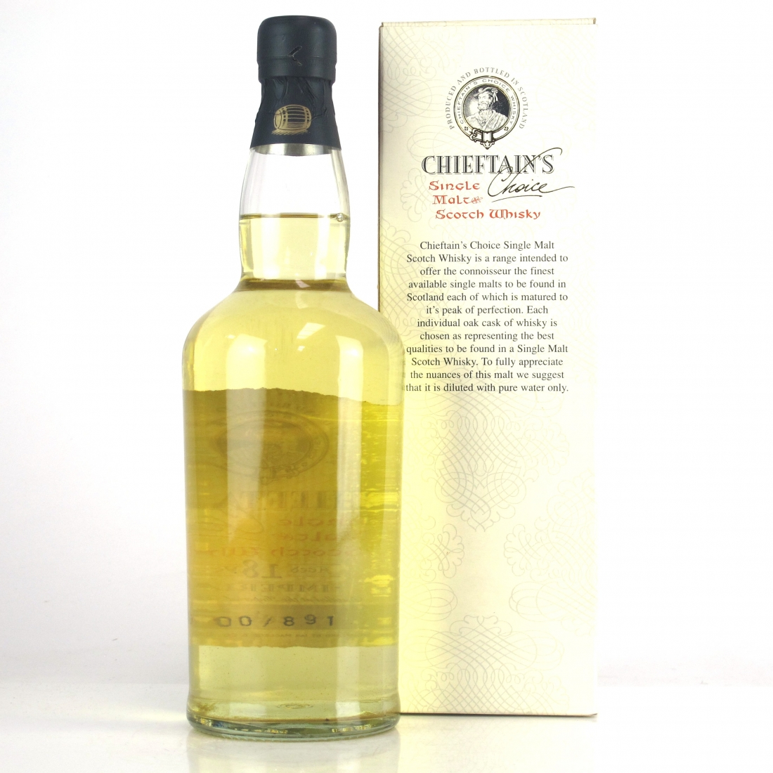 Imperial 1982 Chieftain's Choice 18 Year Old