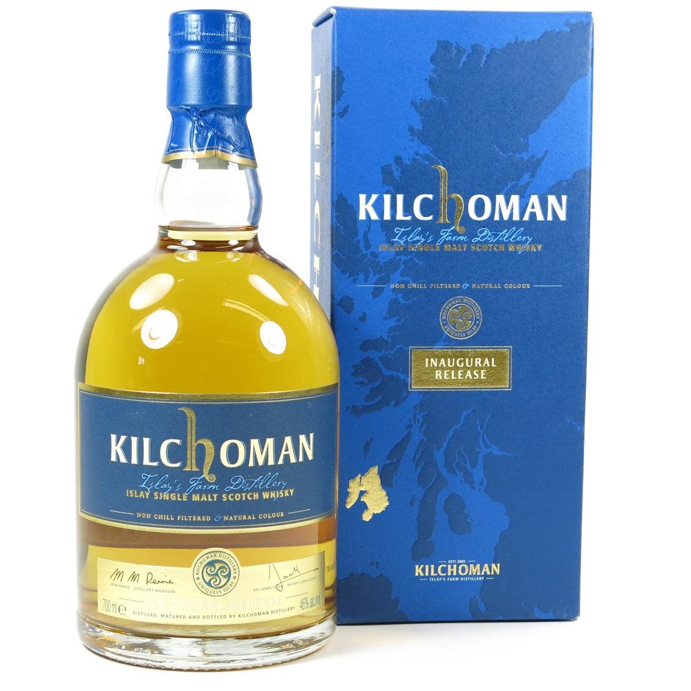 Kilchoman Inaugural Release Front