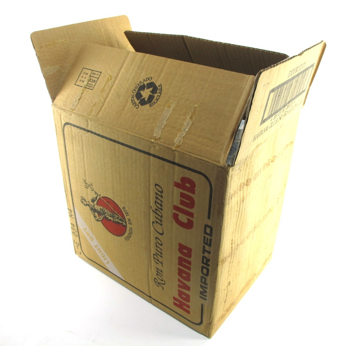 Havana Club 3 Year Old 12 x 70cl / Case With Polo Shirt