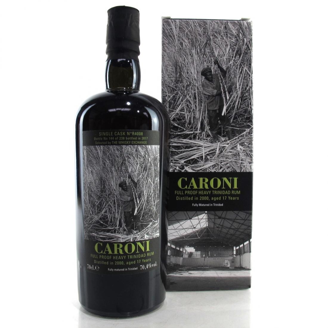 Caroni 2000 Single Cask 17 Year Old #R4008 Full Proof / TWE