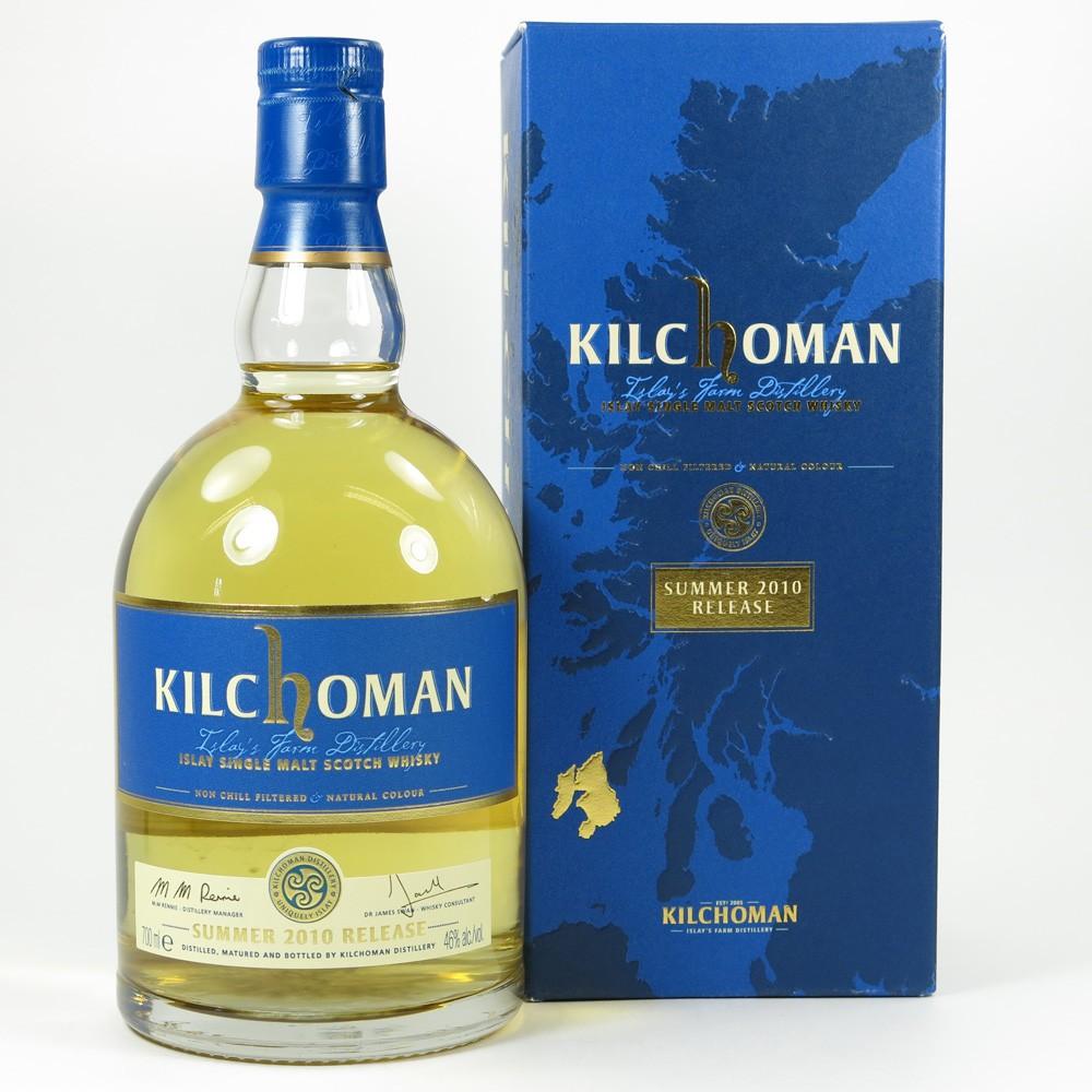 Kilchoman Summer 2010 Release Front
