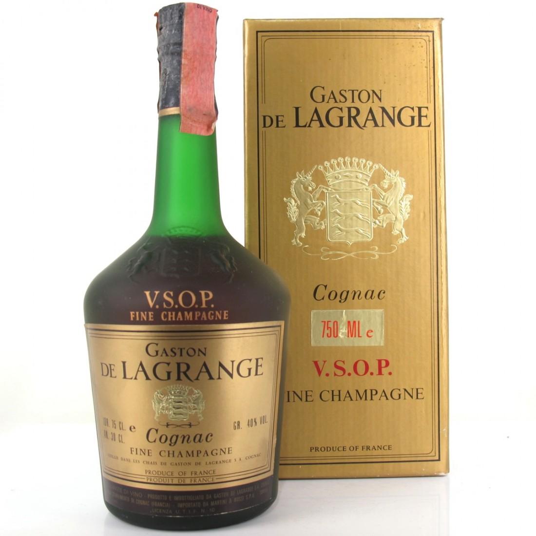 Gaston de Lagrange VSOP Cognac 1980s