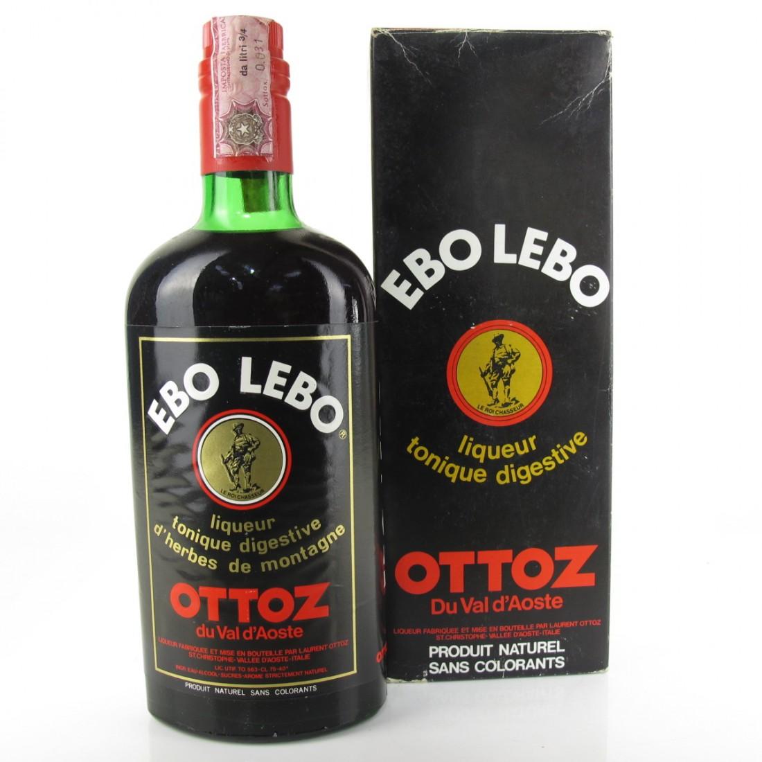 Ebo Lebo Ottoz Amaro 1970s