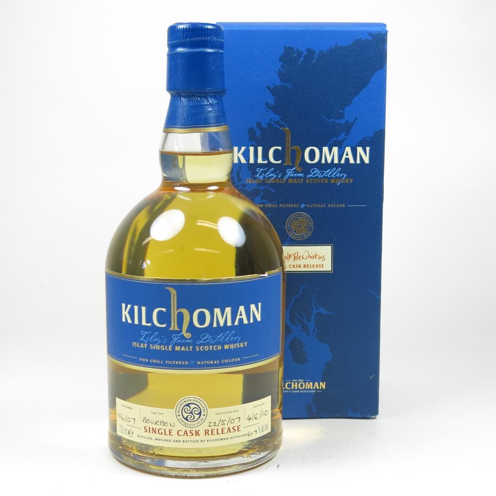 Kilchoman 2007 Royal Mile Whiskies Single Cask