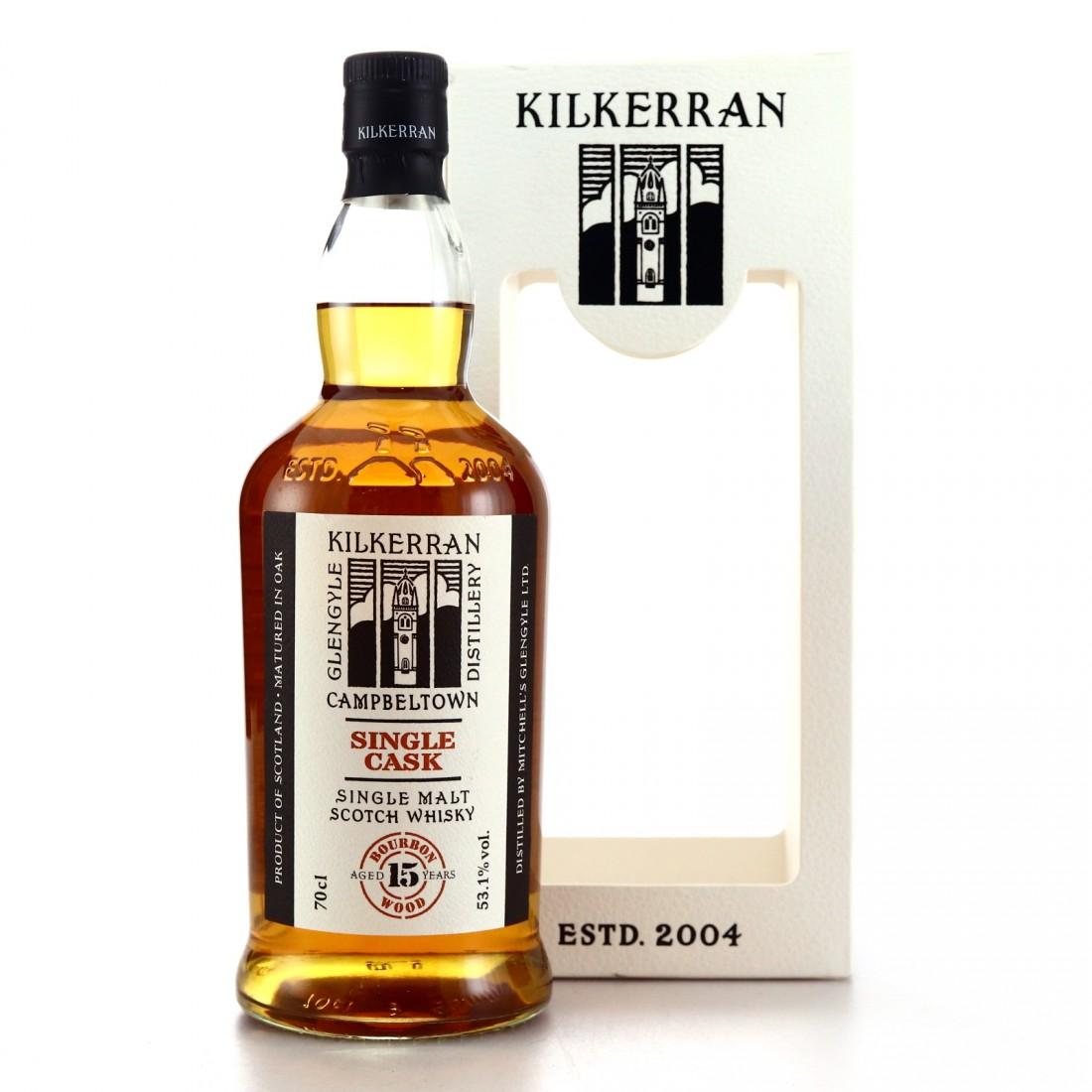 Kilkerran 2004 Single Rum Cask 15 Year Old / 15th Anniversary