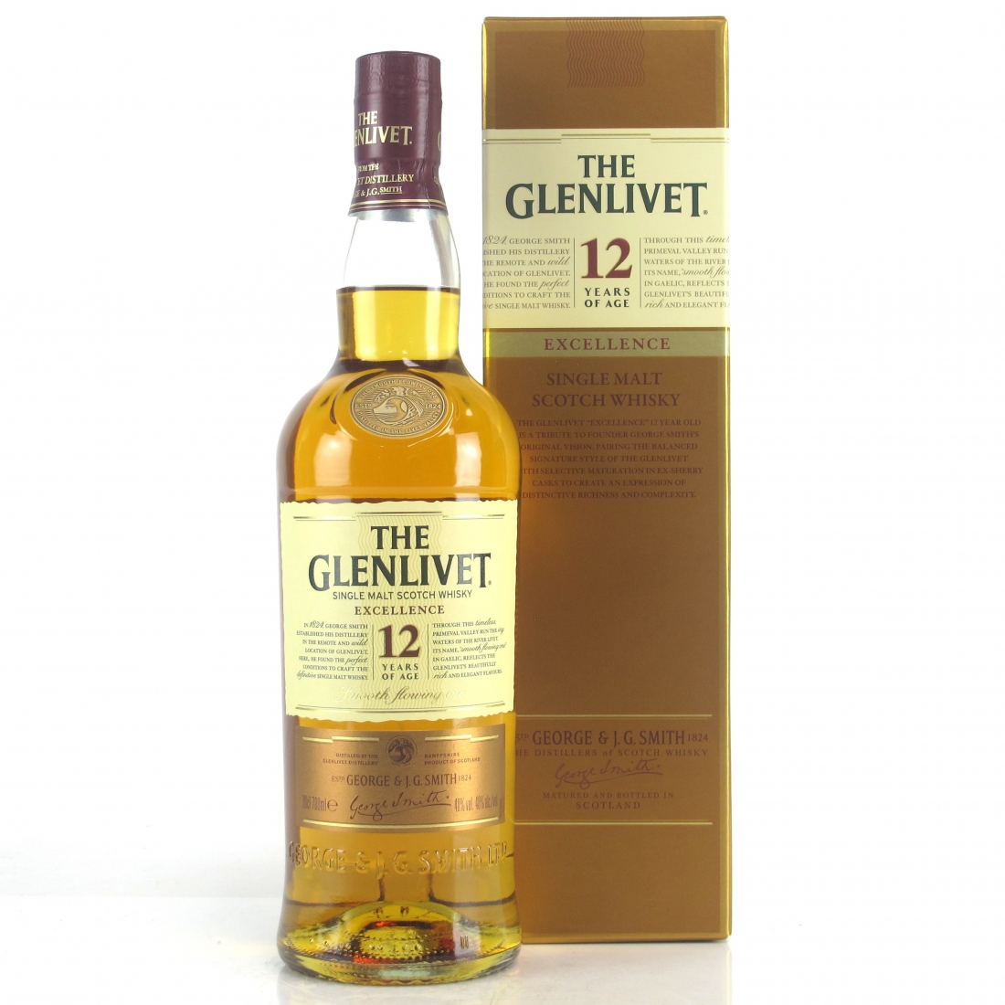 Glenlivet Excellence 12 Year Old