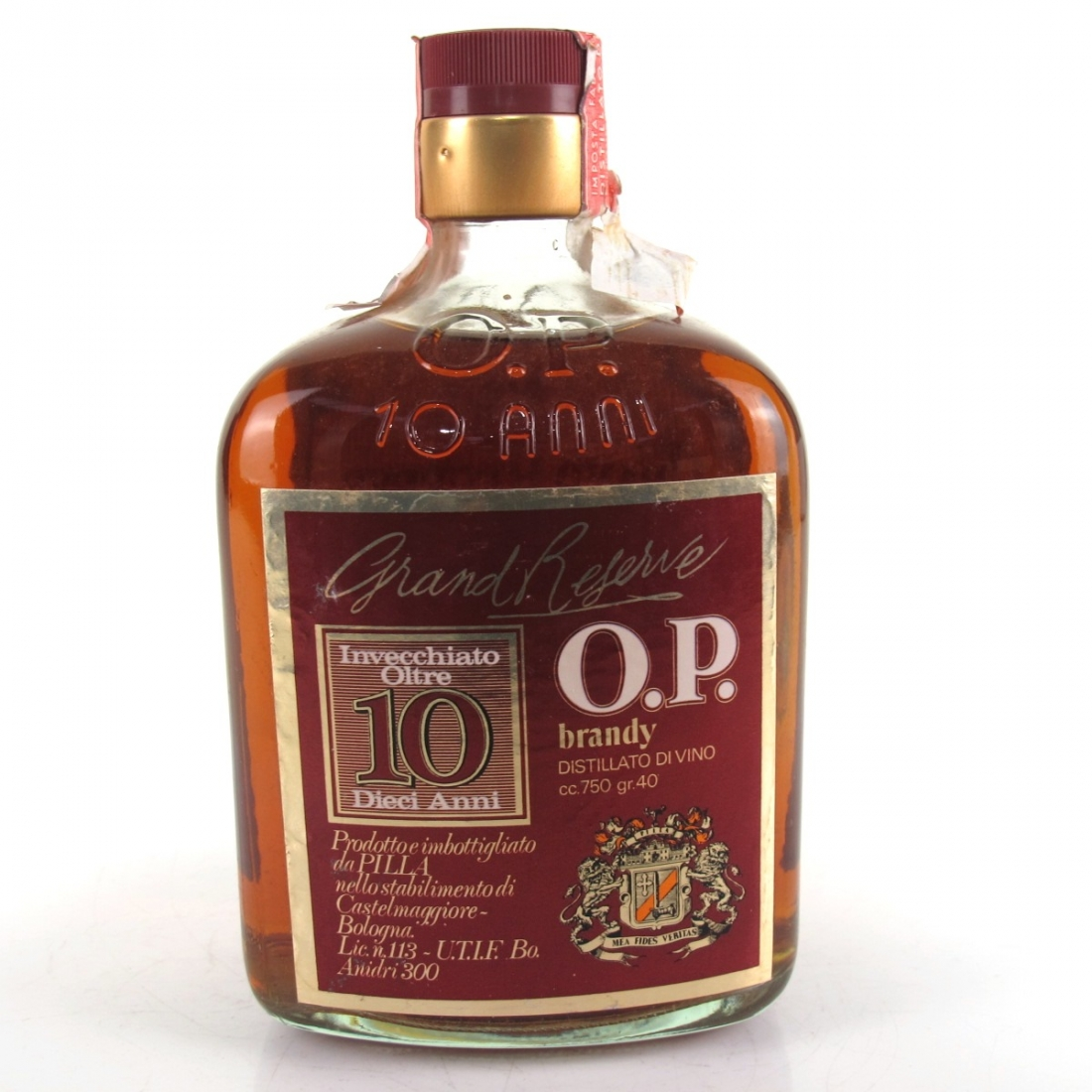 Grand Reserve 10 Year Old Brady 1970s