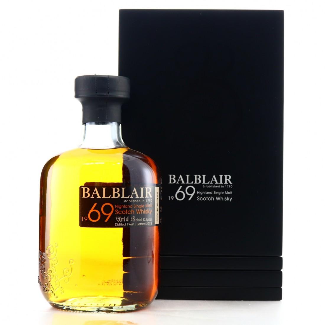 Balblair 1969 1stRelease 75cl / US Import