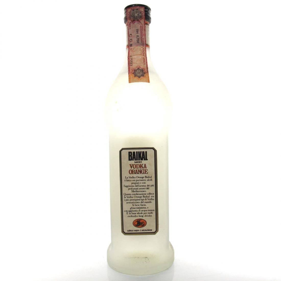 Baikal Liod Vodka Orange 1980s