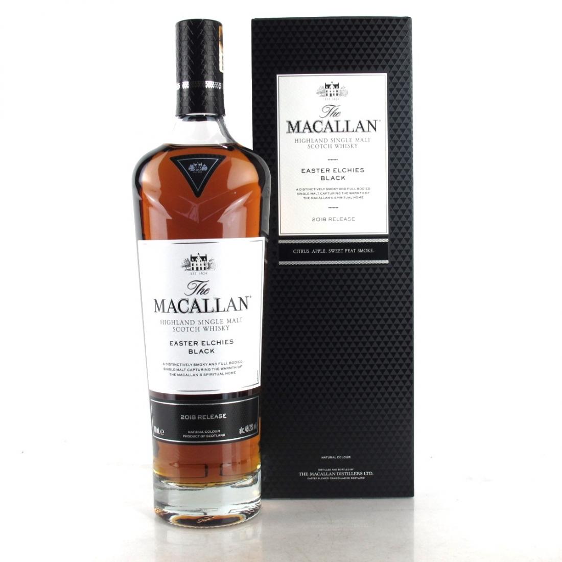 Macallan Easter Elchies Black 2018 Release