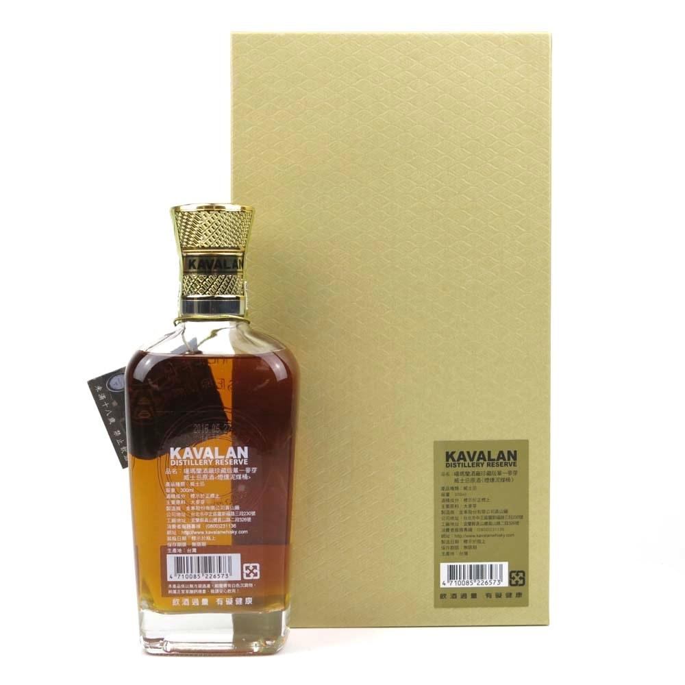Kavalan Distillery Reserve 30cl / Peaty Cask 58.6%
