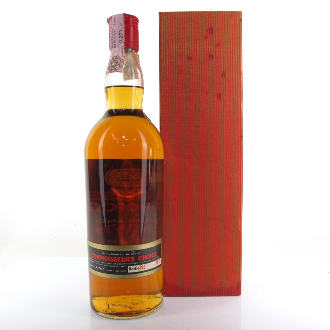 Talisker 1951 Gordon and MacPhail 21 Year Old / Pinerolo​