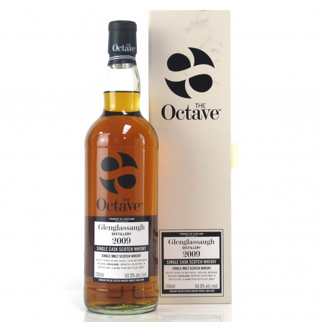 Glenglassaugh 2009 Duncan Taylor 7 Year Old / Octave