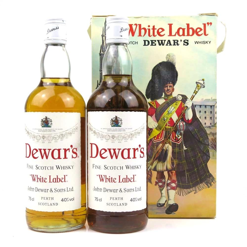Dewar's White Label Gift Pack 2 x 75cl