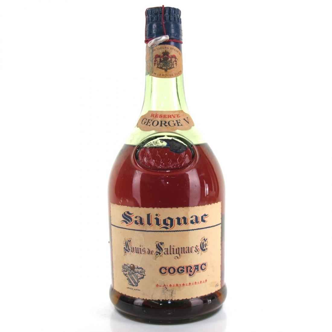 Salignac Geroge V Reserve Cognac Circa 1950s