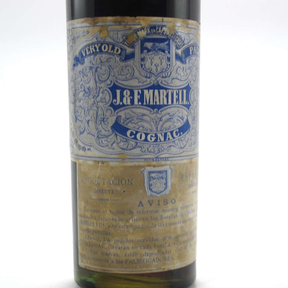 Martell 3 Star Very Old Pale Cognac circa 1930s/40s