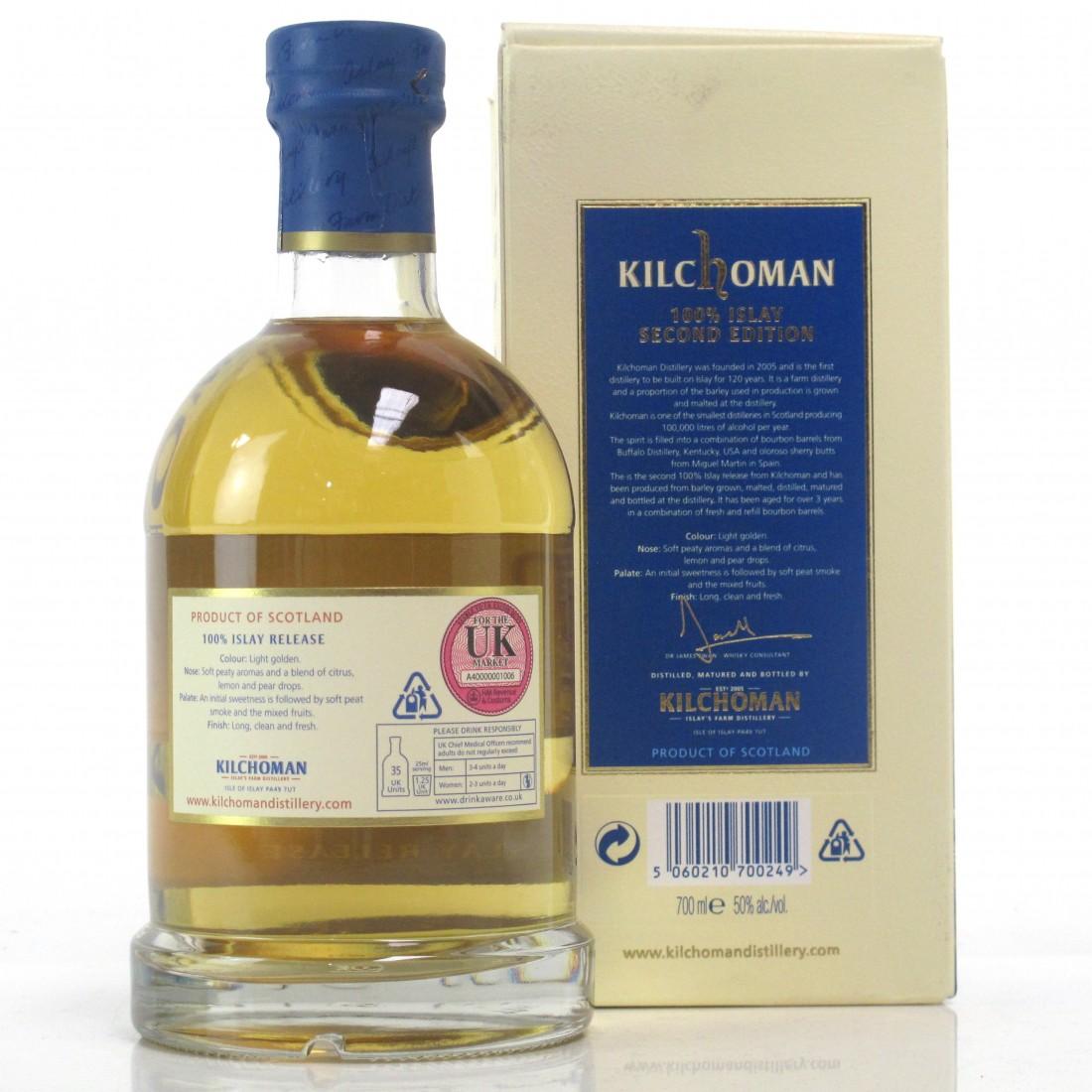 Kilchoman 100% Islay 2nd Edition
