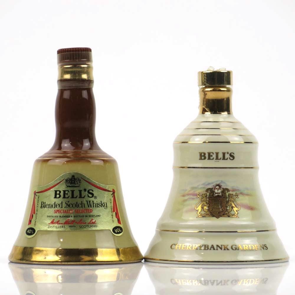 Bell's Cherrybank Gardens 5cl and Bell's Miniature Decanter 5cl