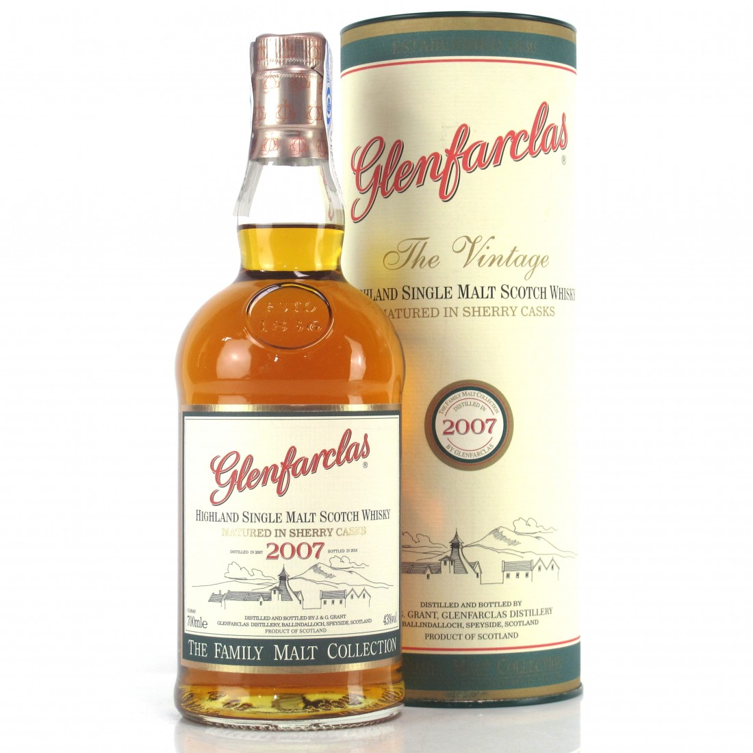 Glenfarclas 2007 Family Malt Collection