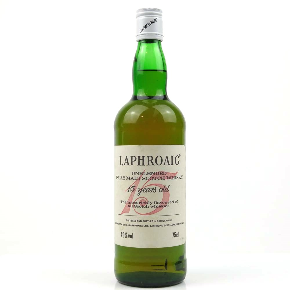 Laphroaig 15 Year Old 1980s