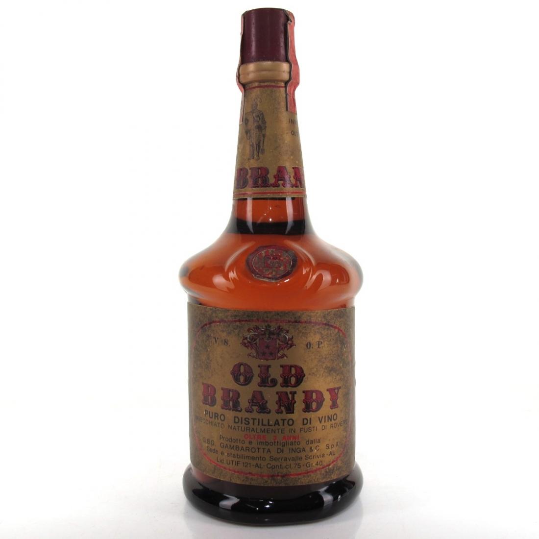 Gambarotta 3 Year Old Brandy 1970s