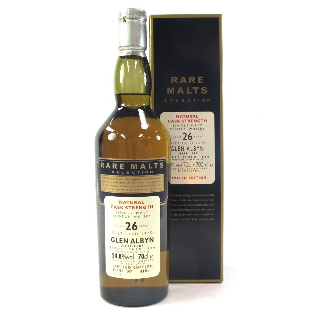 Glen Albyn 1975 Rare Malt 26 Year Old / 54.8%
