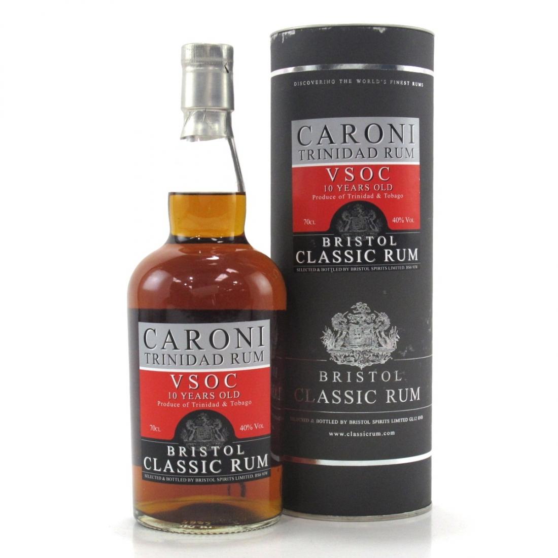 Caroni 10 Year Old Bristol Classic Rum / VSOC
