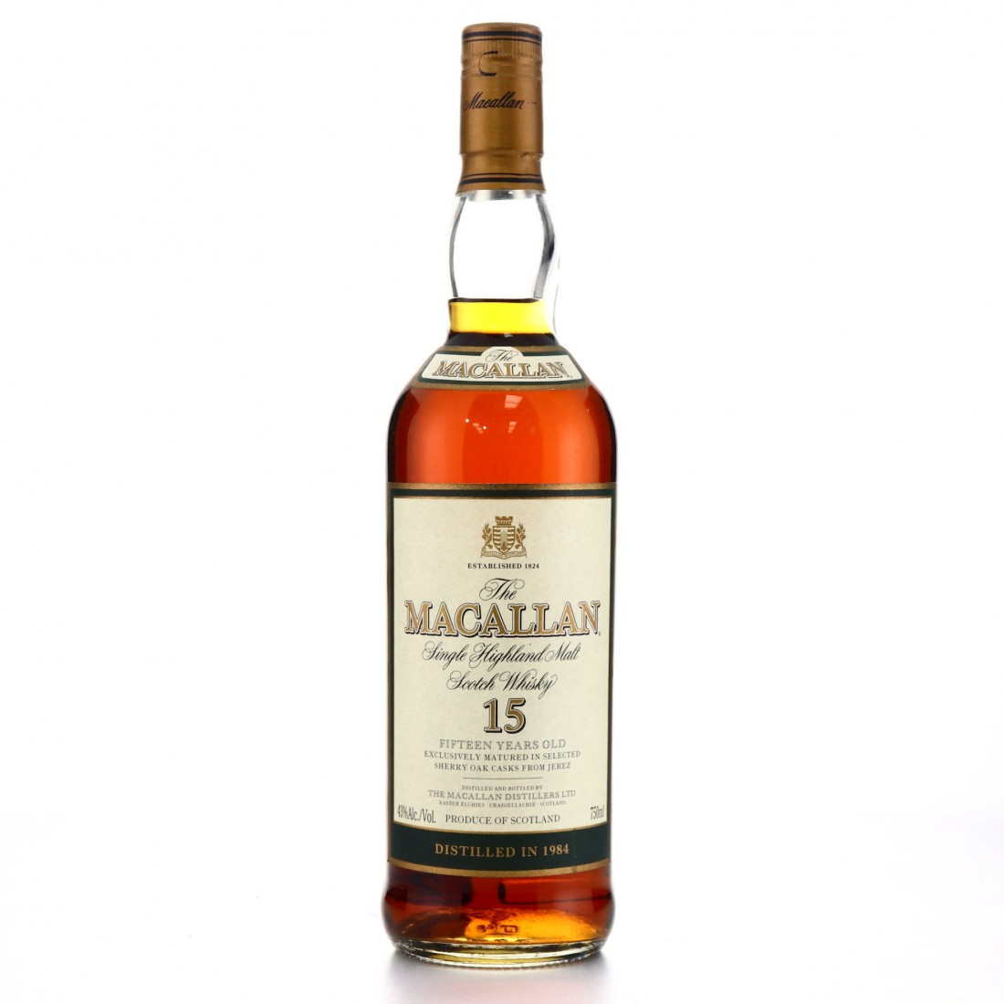 Macallan 1984 15 Year Old 75cl / US Import