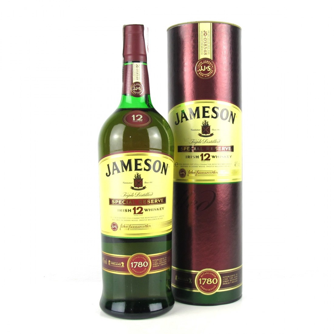 Jameson 12 Year Old 1 Litre