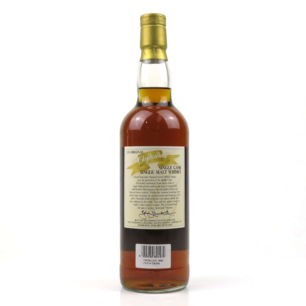 Macallan 1990 The Clydesdale Single Cask