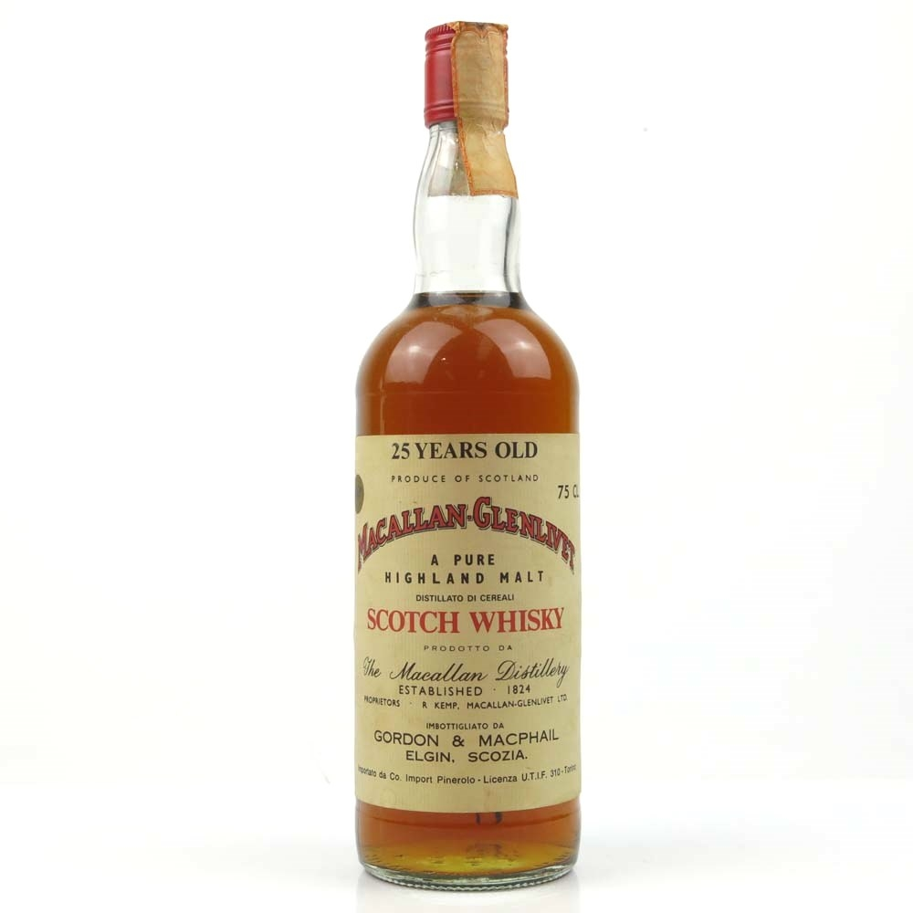 Macallan 25 Year Old / Pinerolo Import