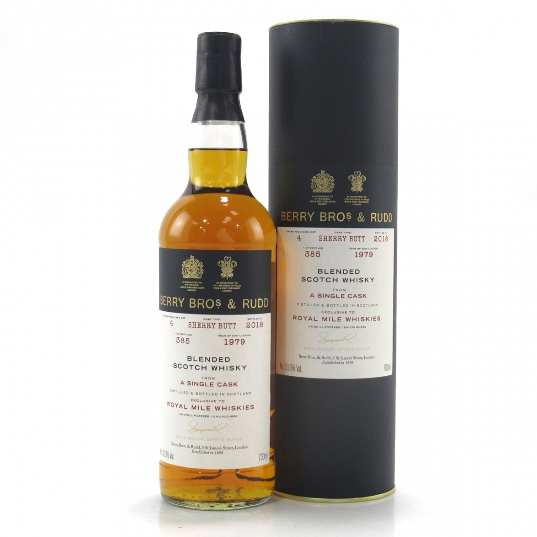 Berry Brothers & Rudd 1979 Single Cask Blend / RMW Exclusive