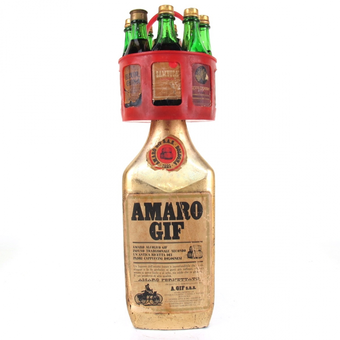 Amaro Gif 1970s / Including Miniature Selection