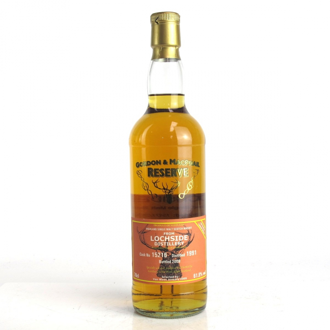 Lochside 1991 Gordon and MacPhail 17 Year Old / Van Wees Whisky Shop