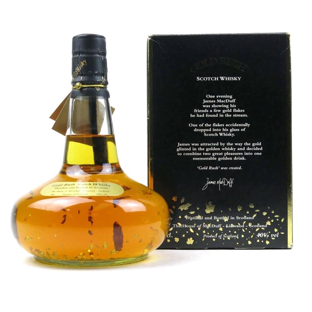 Gold Rush Scotch Whisky Decanter