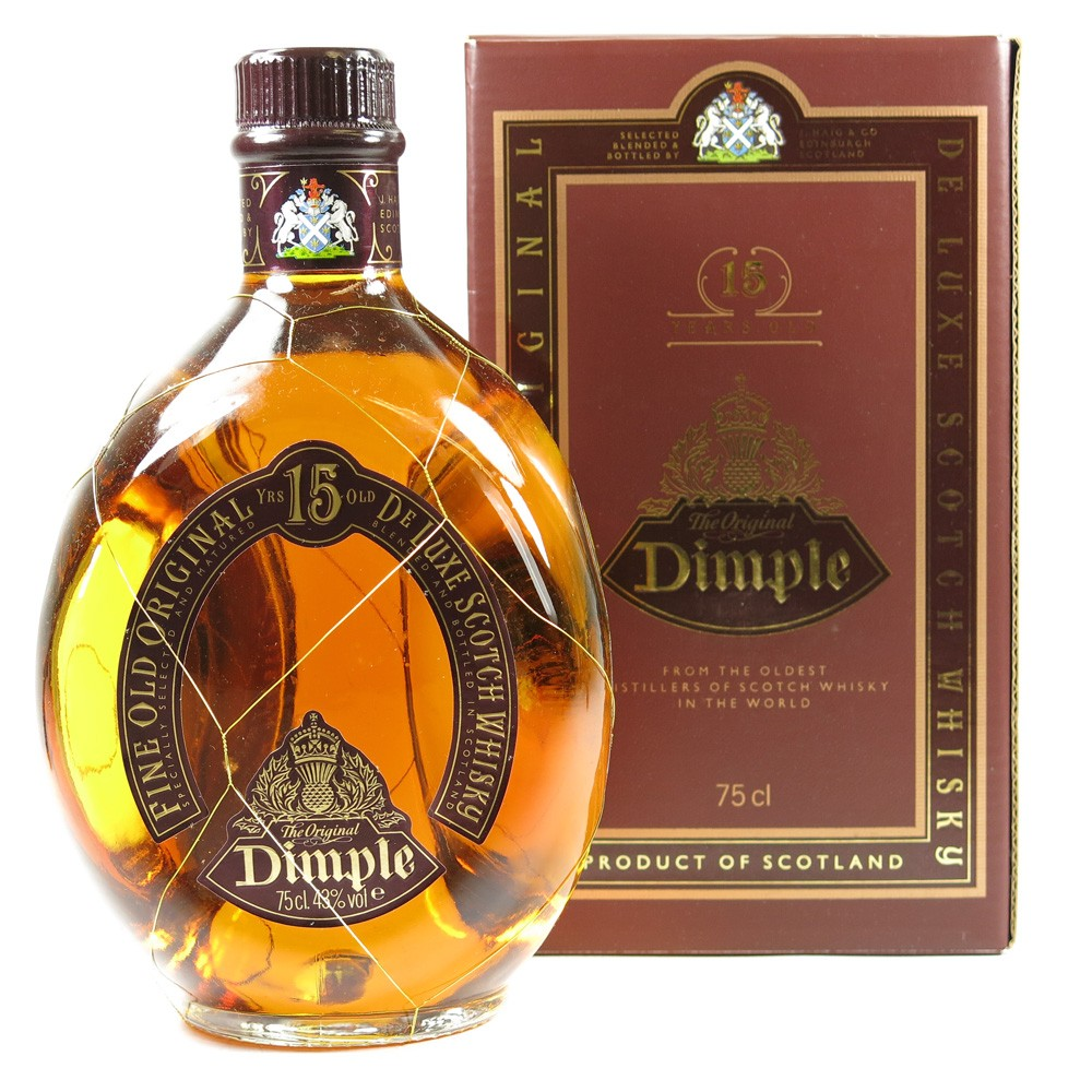 Dimple 15 Year Old 75cl / Iraq Import