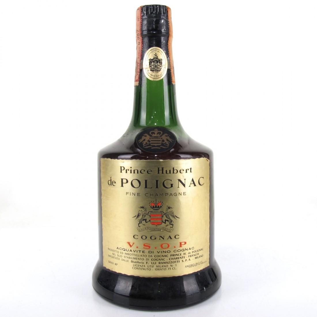 Prince Hubert de Polignac VSOP Cognac 1950/60s