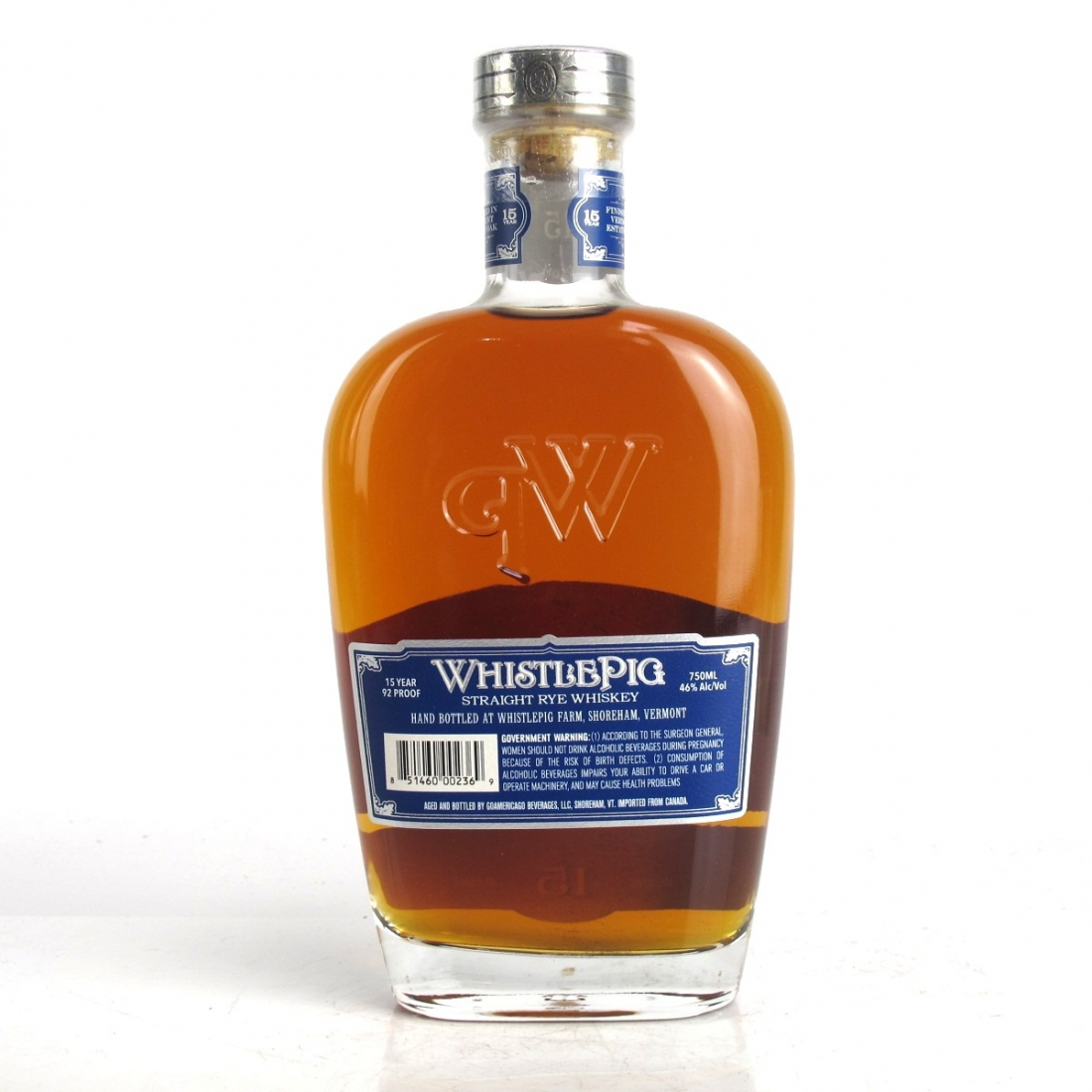 Whistlepig 15 Year Old Straight Rye