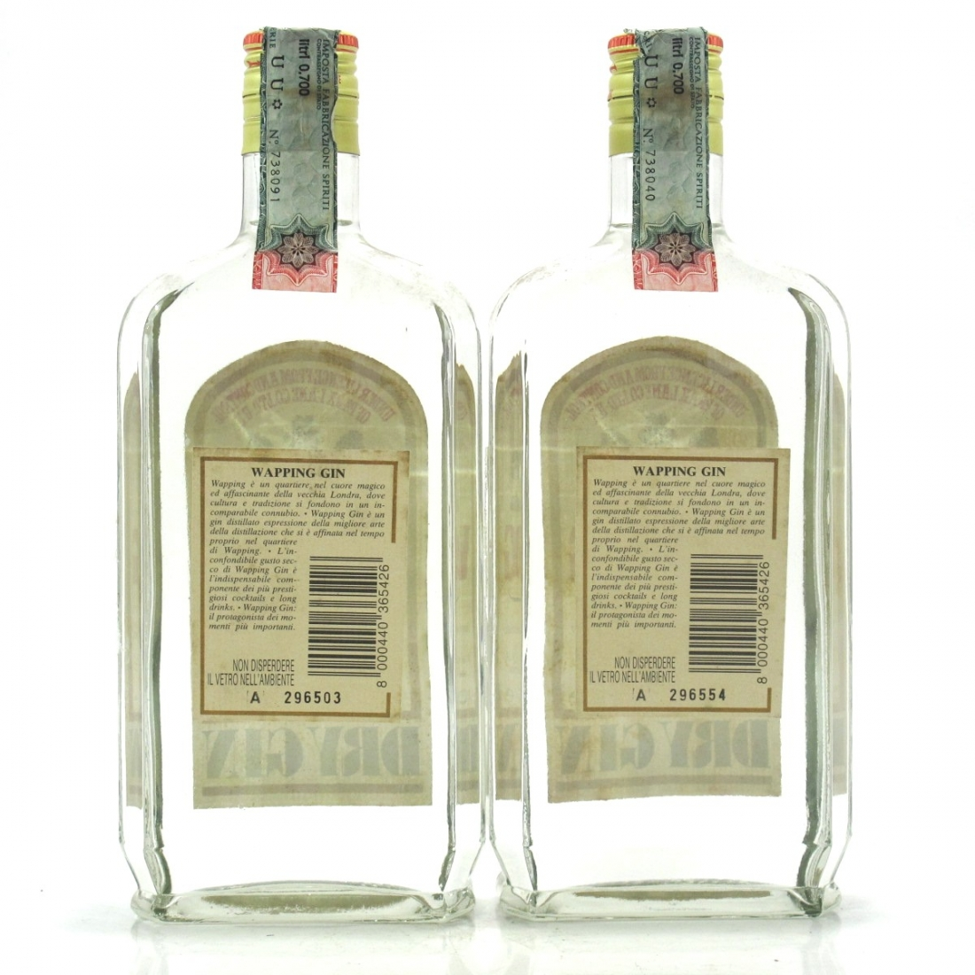 Wapping Dry Gin 2 x 70cl