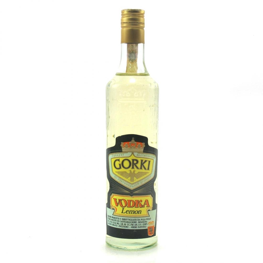 Gorki Vodka Lemon 1970s