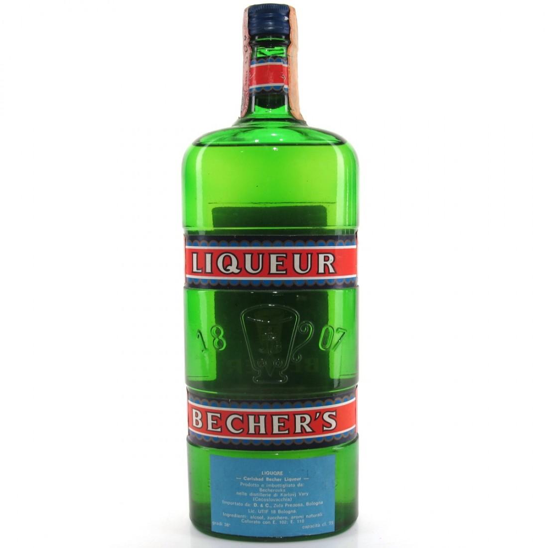 Carlsbad Becher Liqueur 1980s