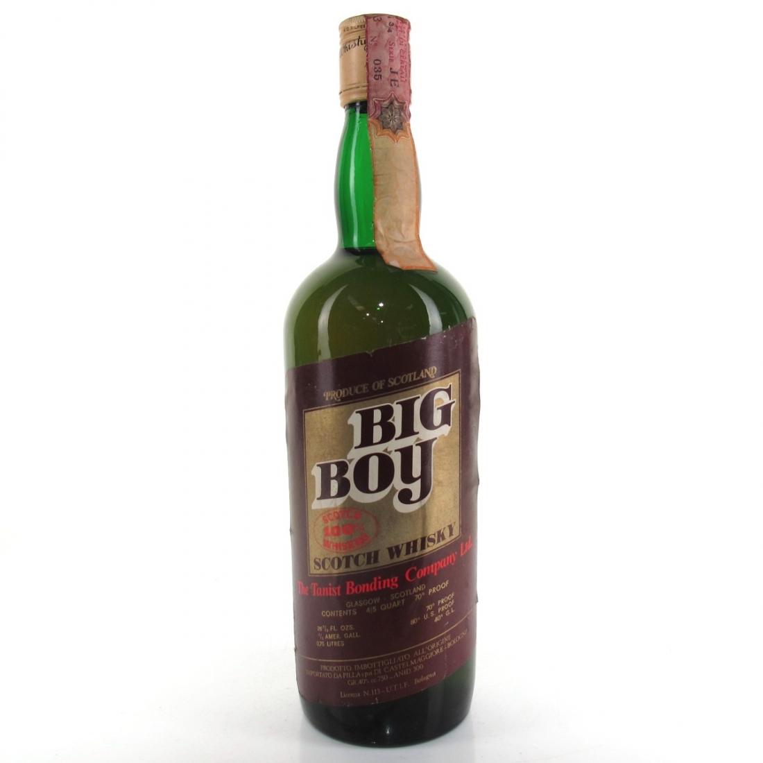 Big Boy Scotch Whisky 1970s