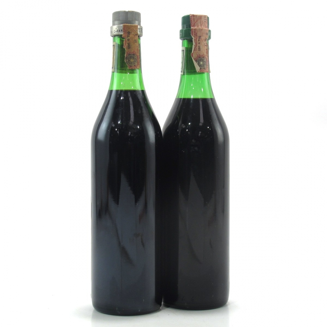 Fernet-Branca Digestif & Menta 2 x 75cl 1980s
