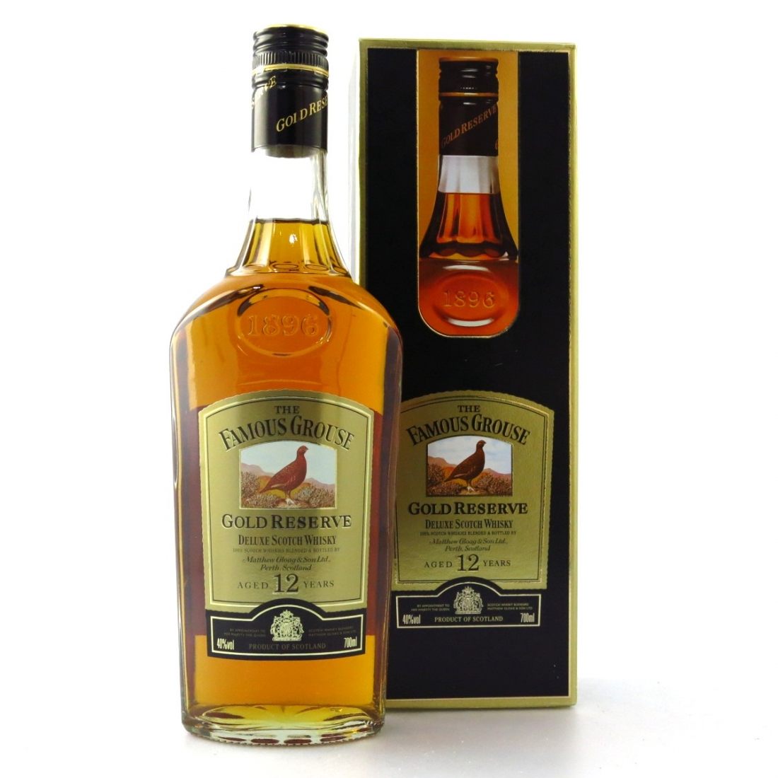 Famous Grouse 12 Year Old Gold Reserve